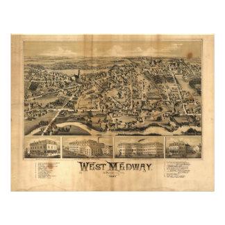 West Medway Massachusetts (1887) Letterhead