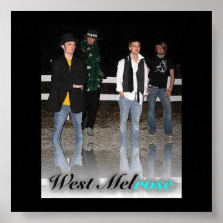 West Melrose Poster