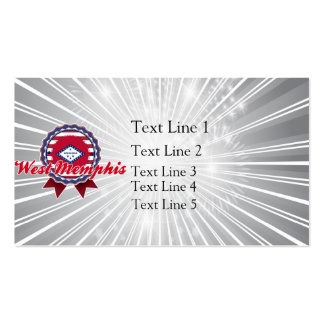 West Memphis, AR Double-Sided Standard Business Cards (Pack Of 100)