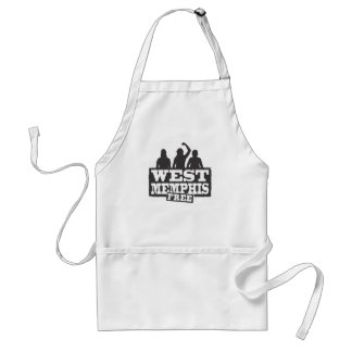 West Memphis Three Adult Apron