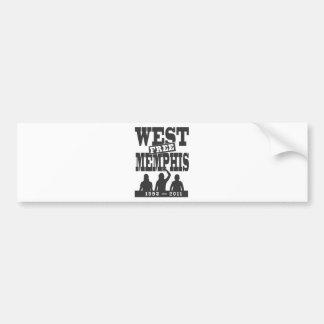 West Memphis Three Bumper Sticker
