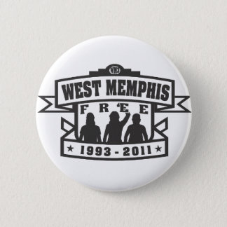 West Memphis Three Button