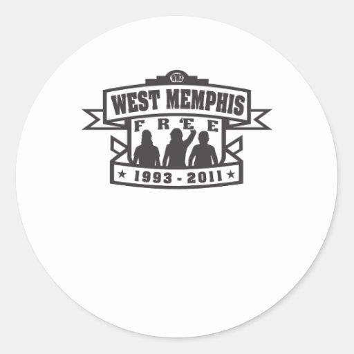 West Memphis Three Classic Round Sticker