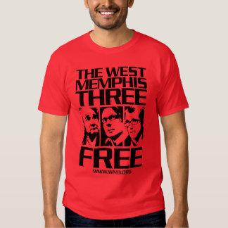 West Memphis Three. Free. Dark Tshirts