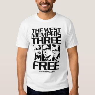 West Memphis Three. Free. Light Tshirts