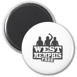 West Memphis Three Magnet