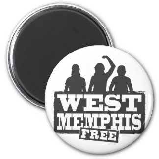 West Memphis Three Fridge Magnets