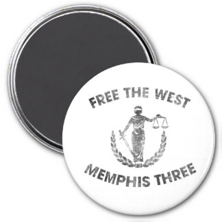 West Memphis Three magnet