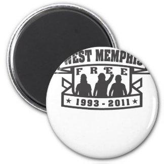 West Memphis Three Fridge Magnet