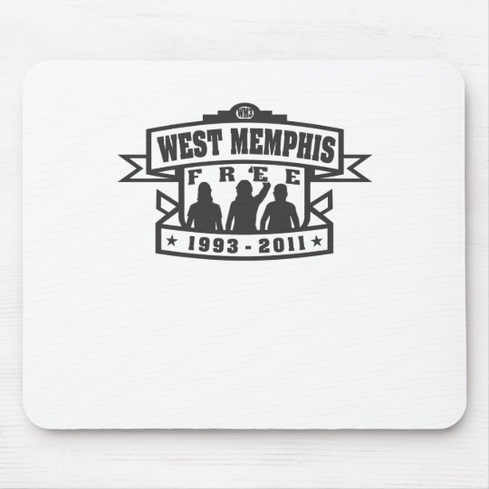 West Memphis Three Mouse Pad