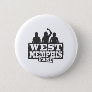 West Memphis Three Pinback Button