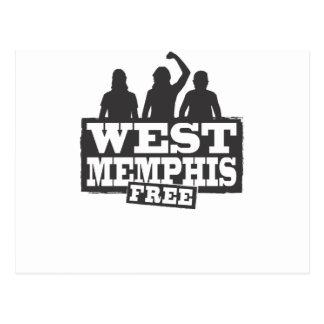 West Memphis Three Postcard
