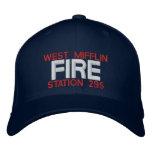 WEST MIFFLIN, FIRE, STATION 295 EMBROIDERED BASEBALL CAP