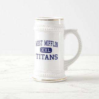 West Mifflin - Titans - Area - West Mifflin Beer Stein
