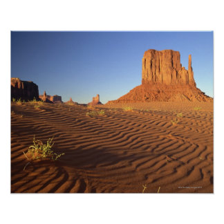 West Mitten Butte Monument Valley Navajo Tribal Print