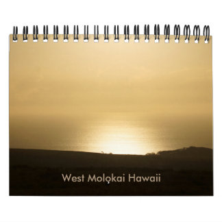 West Molokai Hawaii Calendar