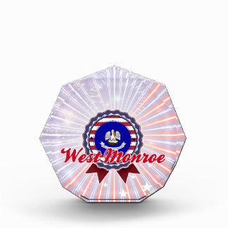 West Monroe, LA Acrylic Award