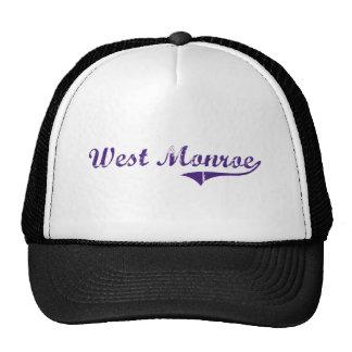 West Monroe Louisiana Classic Design Mesh Hats