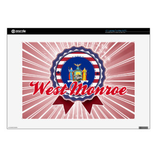 """West Monroe, NY Decals For 15"""" Laptops"""