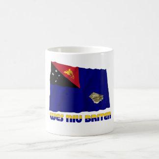 West New Britain Province Waving Flag Coffee Mug