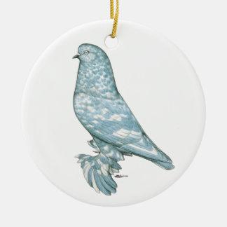 West of England Tumbler:  Lavender Mottle Christmas Tree Ornament