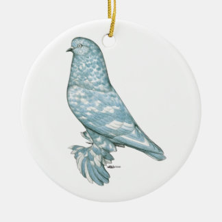 West of England Tumbler:  Lavender Mottle Christmas Ornament