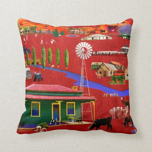 West of the Great Dividing Range MoJo Pillow