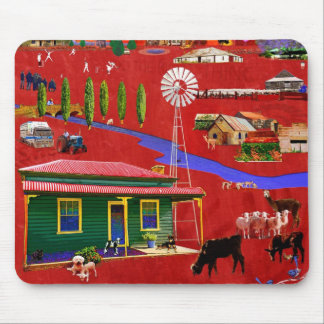 West of the Great Dividing Range Mousepad
