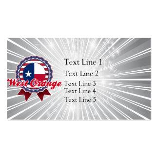 West Orange, TX Business Card