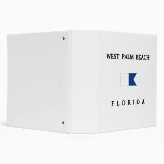 West Palm Beach 3 Ring Binder