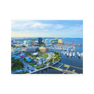 West Palm Beach, FL Canvas Print