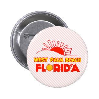 West Palm Beach, Florida 2 Inch Round Button