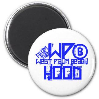 West Palm Beach Florida 2 Inch Round Magnet