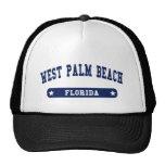 West Palm Beach Florida College Style tee shirts Trucker Hat