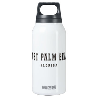 West Palm Beach Florida Insulated Water Bottle