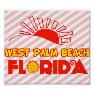 West Palm Beach, Florida Posters