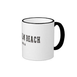 West Palm Beach Florida Ringer Mug