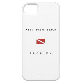 West Palm Beach Florida Scuba Dive Flag iPhone 5 Case