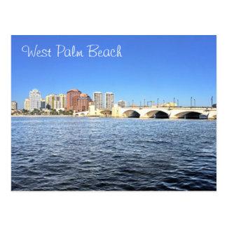 West Palm Beach, Florida, U.S.A. Postcard