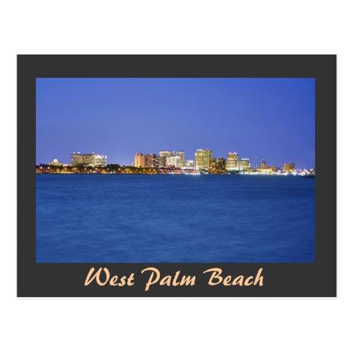 West Palm Beach, la Florida, paraíso en la tierra Postales