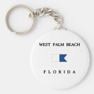 West Palm Beach Llavero Redondo Tipo Pin