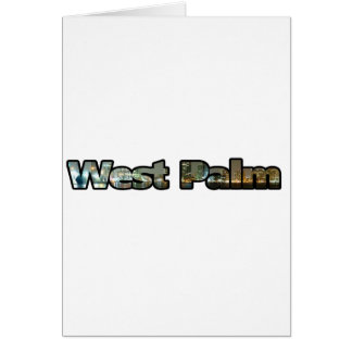 West Palm Skyline Card