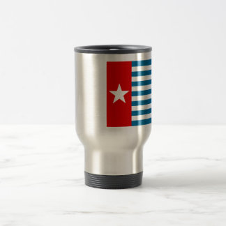 west papua 15 oz stainless steel travel mug