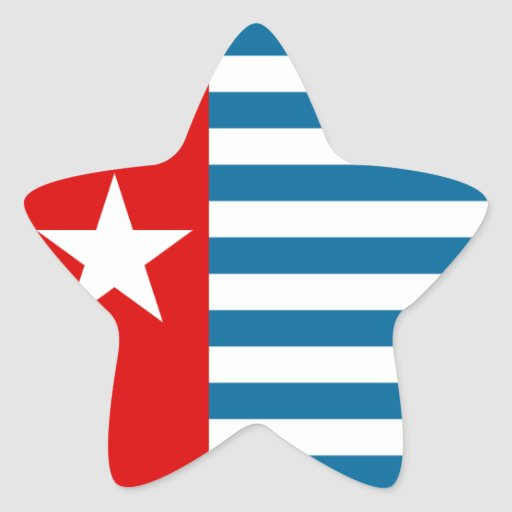 west papua stickers