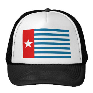 west papua trucker hat