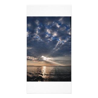 West Penobscot Bay sunrise photocard - 1 Card