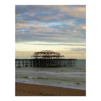 West Pier Brighton Custom Letterhead
