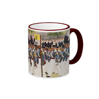 West Point Cadets Customizable Text Ringer Mug
