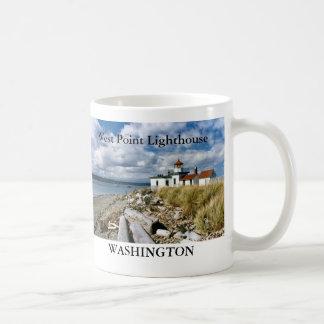 West Point Lighthouse, Washington Mug