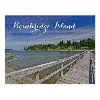 West Port Madison on Bainbridge Island Postcard